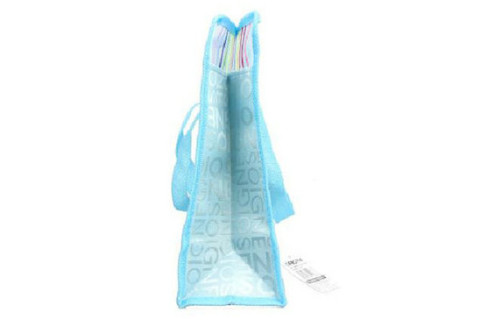 Netscoco Fashion Bathing Bags colored bags Handbags Rainbow Bag Leisure Beach bags Supplier Manufacturer