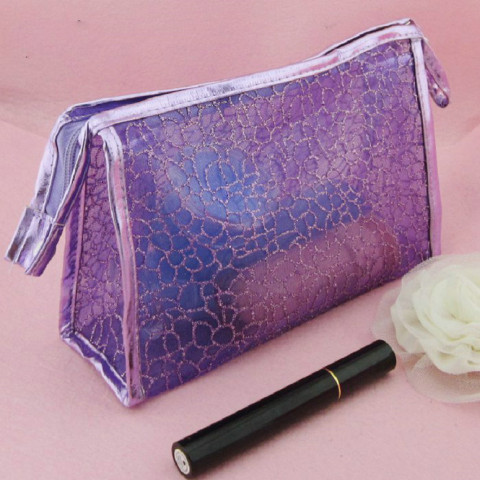 Nylon Mesh Makeup Bag Cosmetic Bag Bolsa de maquillaje nylon Sac de maquillage Nylon Make-up Tasche ナイロンポーチ