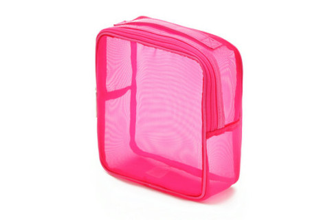 Mesh Handle Makeup Bag Supplier, Mesh Handle Makeup Handbag Supplier, Pink Red Square Mesh Makeup Bag Supplier, Nylon Mesh Cosmetic Bag Manufacturer, Mesh Zipper Make Up Bag,Nylon Mesh Bags Wholesale, Ladies Makeup Bag Supplier, Ladies Cosmetic Bag Supplier, Bolsa de maquillaje, nylon Sac de maquillage, Nylon Make-up Tasche, сетка косметичку,Netz Make-up Tasche